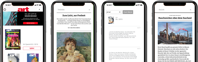 art-Magazin-App